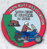 The lapel pin for doing a Saddle Sore 1000 within the borders of California