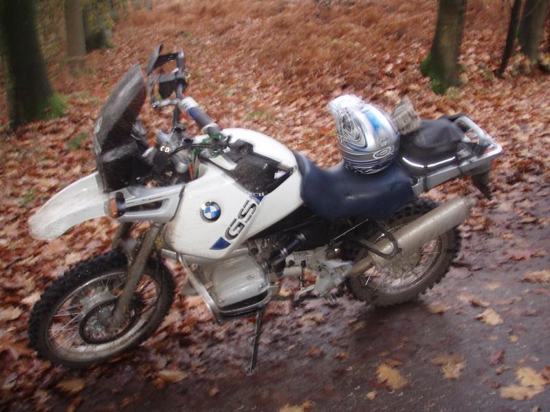 BMW R1100GS van Olivier.