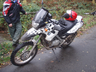 BMW F650GS Dakar van Marc.