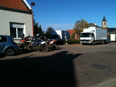 Parking Moto's.