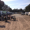 Op de parking aan het Glosso-Circuit in Arendonk.