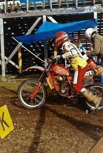 Mike starting the Shelton Enduro.  1991 - 1992?
