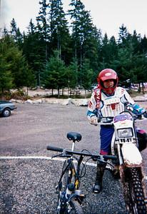 Mike Kmet finishing the endure at Tahuya.