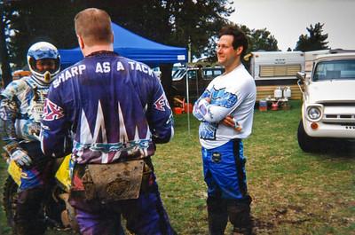 Matt & Monte after Shelton Valley endur. 1996