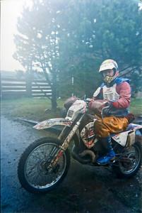 Rick Novy at Shelton Enduro.  1994?