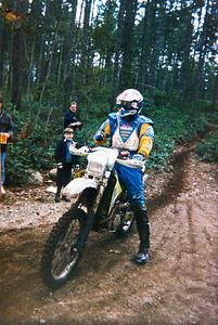 1995 Sparkplug Enduro.  Finishing special test