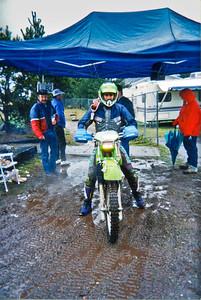 Todd Smith finishing the Shelton Valley Enduro
