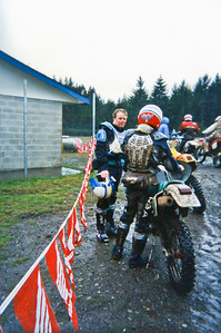 Matt and Mike at the end of the Shelton Valley Enduro