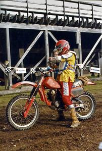 Mike starting the Shelton Enduro.  19901-1992?