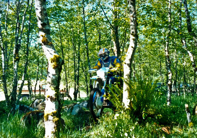 Start of an enduro at Reiter Pit.  1996?