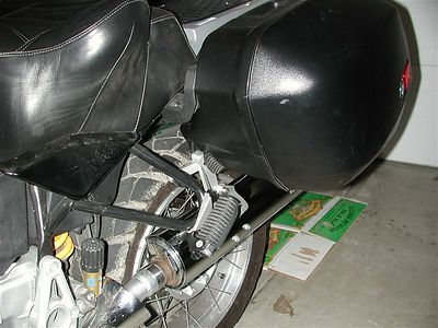 R1150GS ZMW Exhaust Lowering Kit