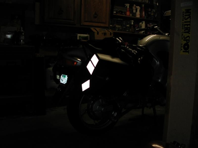 SOLAS Reflective Tape: 60 degrees to the right