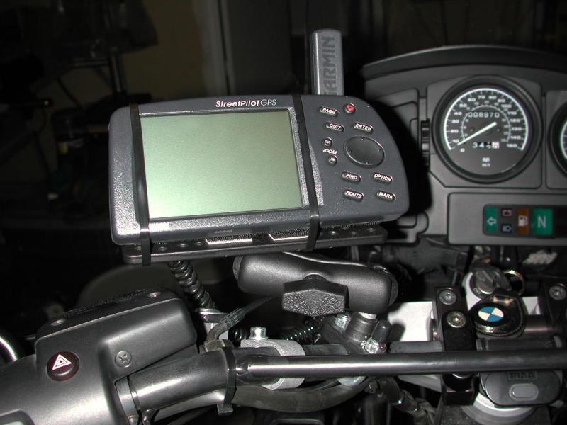 RAM Streetpilot Mount on R1150GS