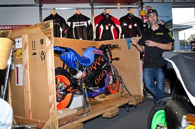 Eric Bostrom & The Brammo / ICON Spec 32 - Eboz Edition I