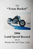 "Wild Bill Powell\'s"" Texas Rocket\"", Bonneville LandSpeed RecordSeting SuperBike"