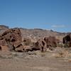Rocks along Indian Head trail