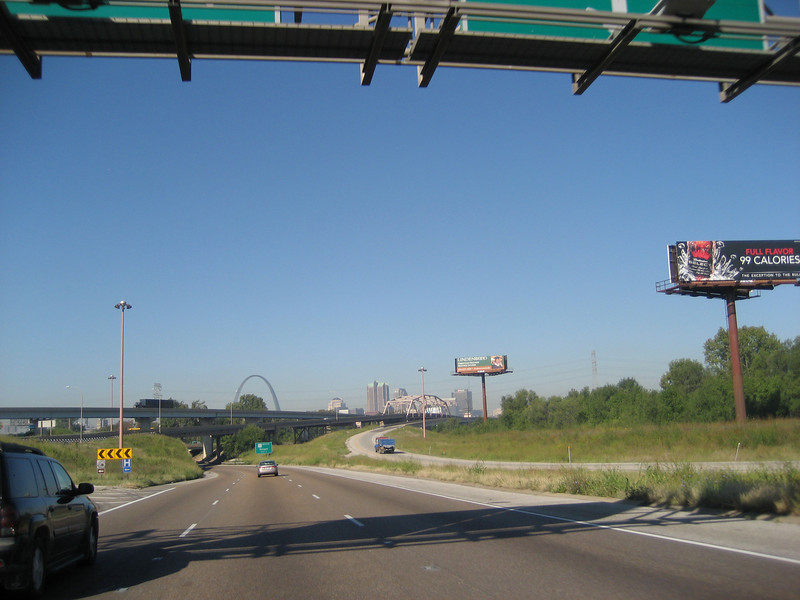 Coming into St Louis