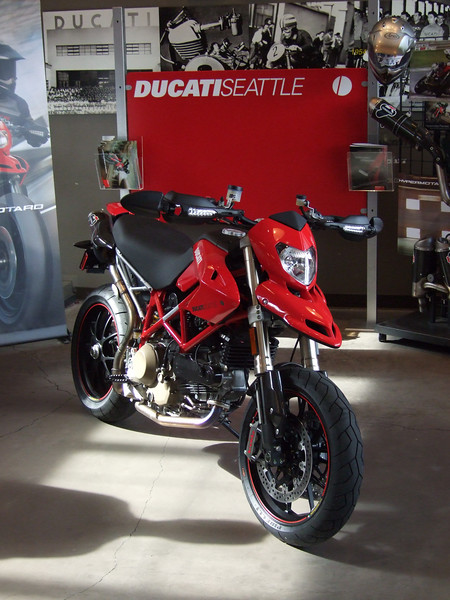 Hypermotard Intro at Ducati Seattle