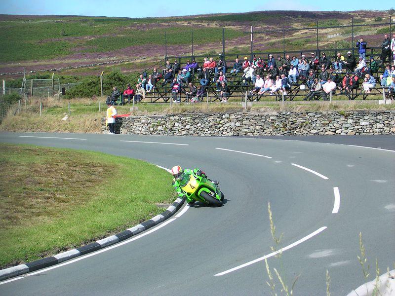 Alan Jackson on a 750 Kawasaki