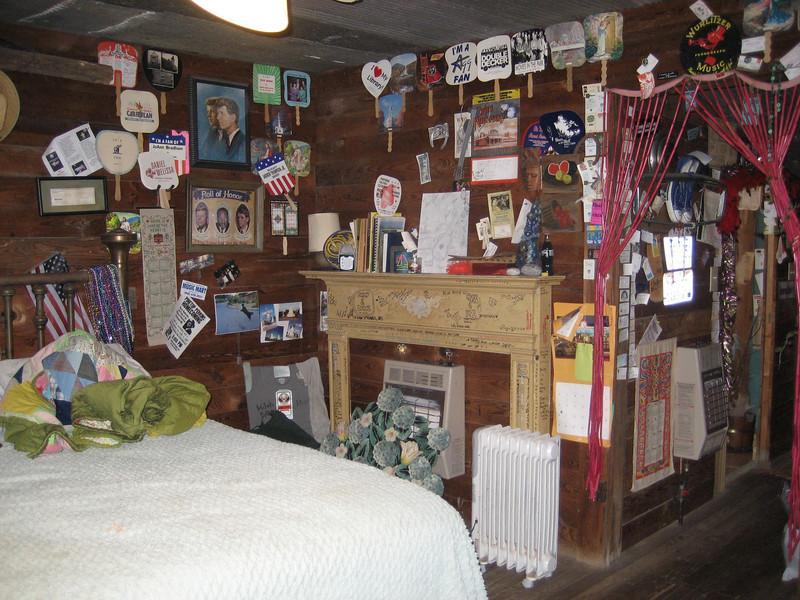 One of the shacks at the Shackup Inn