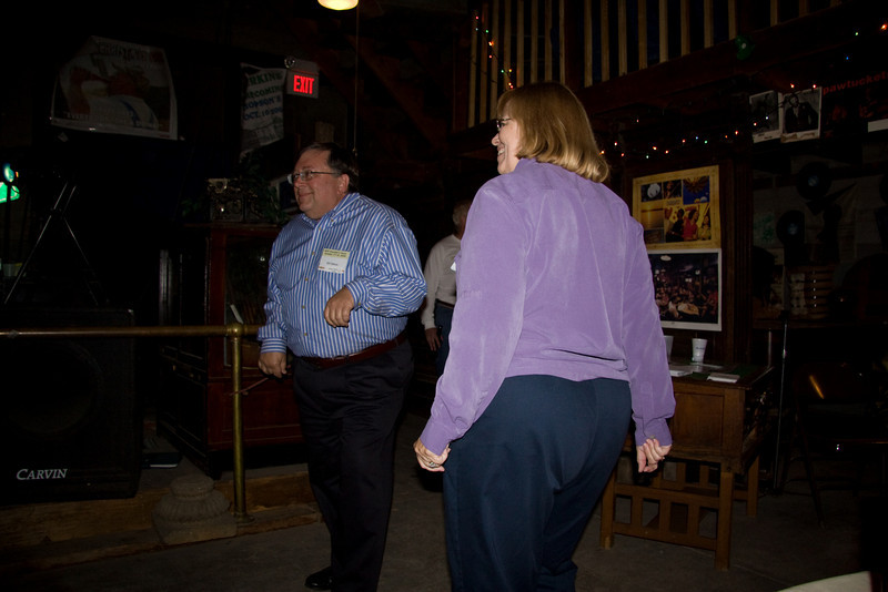 Bill and Susan gettin jiggy with it.