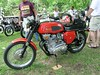 "According to Ricky J from <a href=""http://www.apriliaforum.com"">apriliaforum.com</a> this is about a '69 BSA Rocket 3 750 triple."