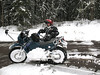 extreme winter driving 101 : Winter Driving with sidecars