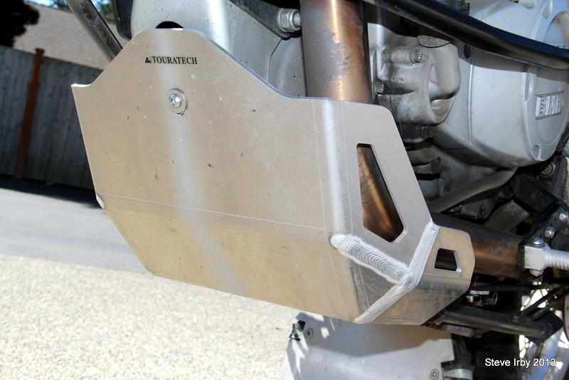 TT Aluminum skid plate