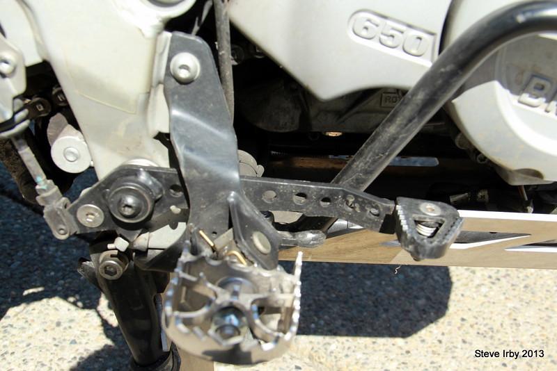TT Folding Brake pedal