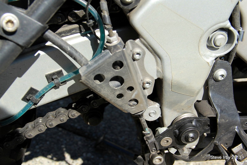 TT Rear brake master cylinder guard