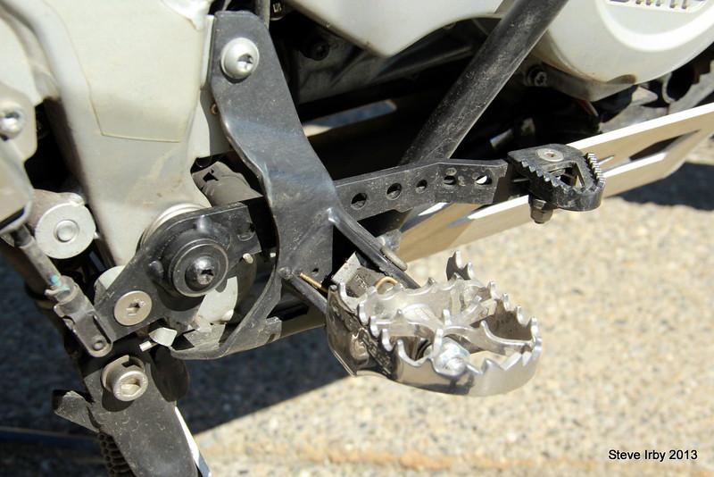 TT supplied Pivot Pegz
