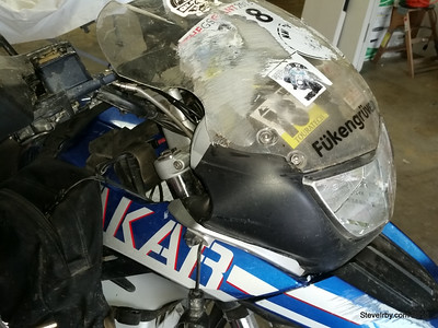 F650GS Damage Photos 07092015