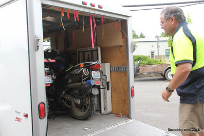 Mr. BestRest, David Petersen towed my bike to his shop for safe keeping till the insurance company came for it.