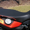 Sargent Enduro seat w/orange piping