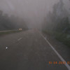 Then got wet and stayed foggy.  This lasted for a couple hours until we ran into great weather in mid GA.