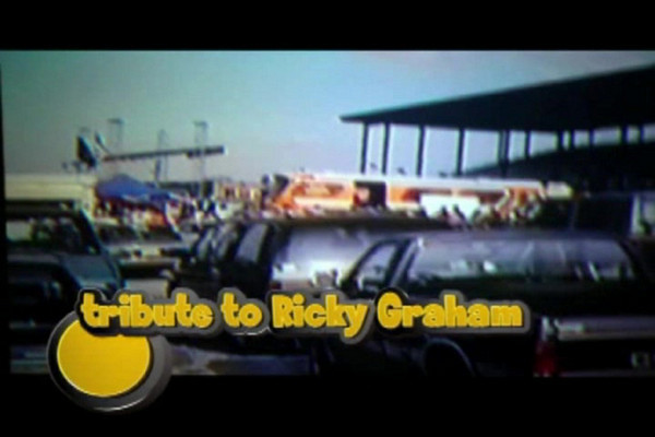 Indy Mile Aug 21, 1993<br /> Ricky Graham<br /> Ricky Graham was AMA Grand National Champion three times: 1982, 1984 and 1993. Graham is widely considered one of the most talented dirt track racers ever to strap on a steel shoe. His record speaks for itself: Four AMA National Championships (three Grand National and one Harley-Davidson Sportster Performance, then known as the Harley-Davidson 883cc Series); 39 career Grand National victories; seven Sportster Performance national wins; and named AMA Athlete of the Year in 1993.<br /> Other people pictured in this video<br /> Kevin Atherton,Chris Carr,Bert Shepherd photographer