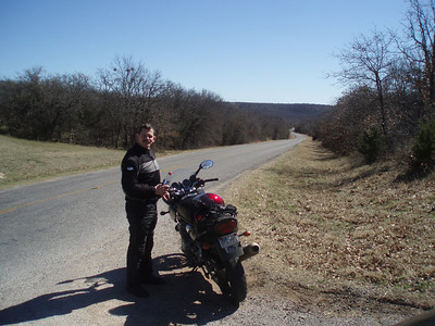 Texas FM 4 between Palo Pinto and Santo