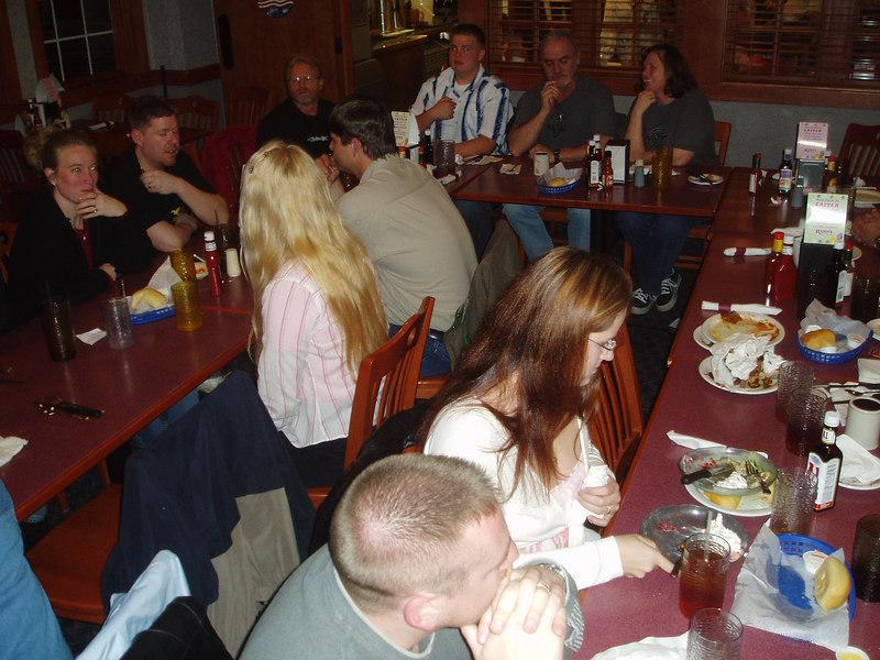 FRC-HSN group dinner 3-26-05