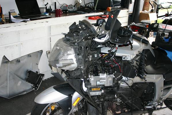 BMW K1200GT HID installation
