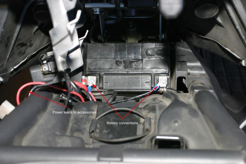 Battery Hookups