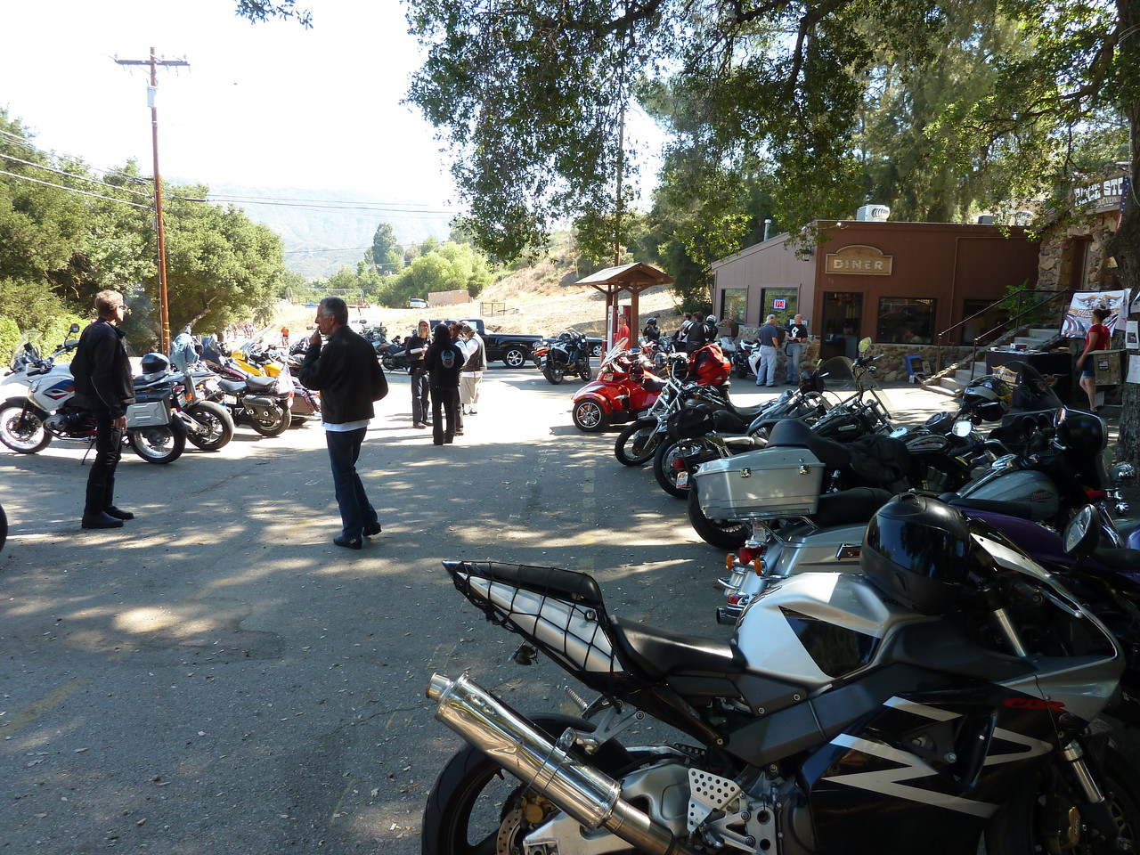 Bikes at Rock Store on Mulholland.