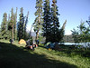 June 07 Camping at Clearwater Lake near Kleena Kleene