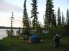 British Columbia 2007. Camping at Clearwater Lake near Kleena Kleene on Bella Coola road