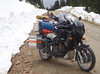 British Columbia 2007. Hurley Pass snow in late June, near Goldbridge