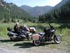 British Columbia 2008. Bill at a small lake near Apex Alpine ski resort, Penticton