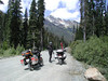 British Columbia 2005. Greg on the Hurley Pass road to Goldbridge