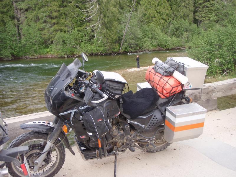 June 10 The ultimate goal, fly fishing & biking, West Kootenays