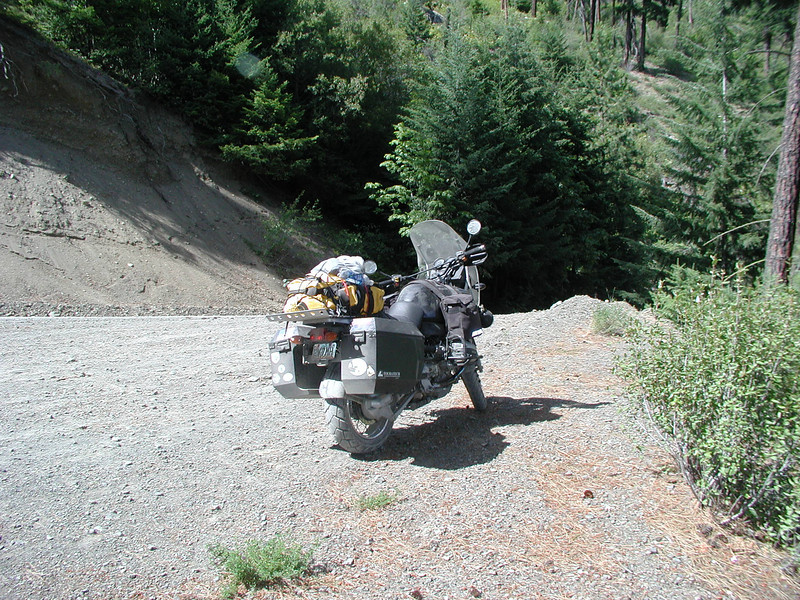 British Columbia 2008. Perry's GS on the Mission Mountain Switchbacks