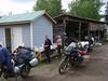 June 08 Horsefly Lake camp, bath day