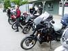 British Columbia 2007. Triumph RAT pack ride, Lillooet